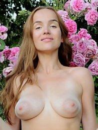 Eva Jolie in Roses by Fabrice