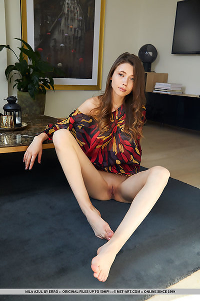 Mila Azul in Heartbreaker by Erro