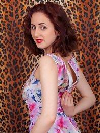 Adriana Tella leopard set