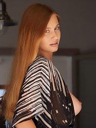 Stella Cardo in Dining Room by Erro