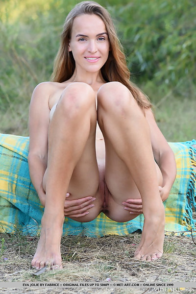 Eva Jolie in Campfire Fun by Fabrice