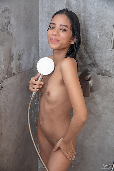 Karin Torres in Pure After Shower