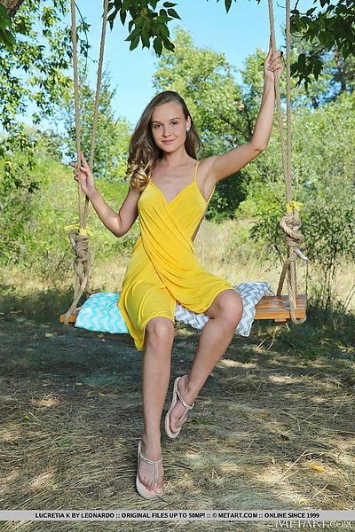 Lucretia K in Swingin' Beauty by Leonardo