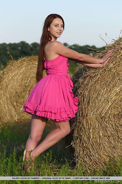 Valery Leche in Bales by Fabrice
