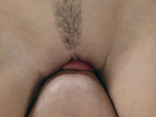 Tied-up brunette with big areolas getting fucked