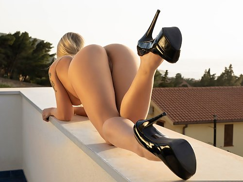 Darina on the Rooftop