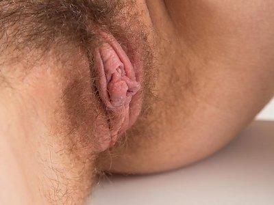 Anata Shows Hairy Snatch