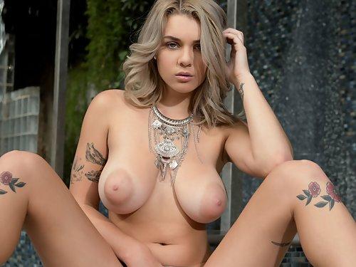 Gabbie Carter Poolside Blonde