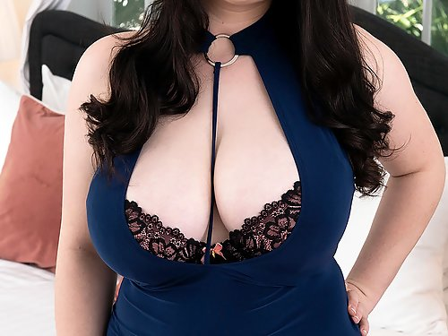 Chubby girl with huge tits getting fucked