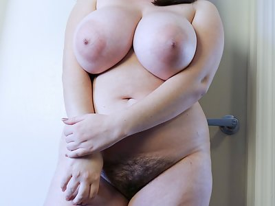 Busty bbw Milly marks in a sailors uniform