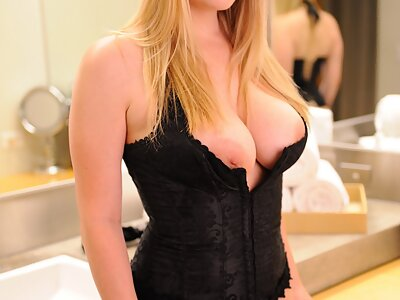 Buxom blonde hottie Danielle Delaunay has been entertaining her fans for years now. From her more conservative early days as a glamour model, this busty beauty has now ventured into hardcore, anal and even BDSM, making her (and her website) even more enjoyable. Danielle's personal website is updated 3 times a week with exclusive photos and videos. at Danielle FTV