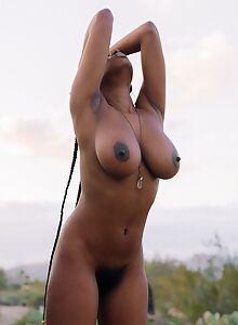 Nyla Naked on a Big Rock